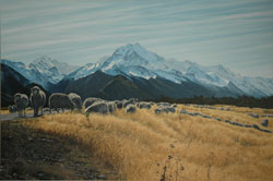 Grant McSherry Aoraki / Mt Cook from Highway 80, NZ